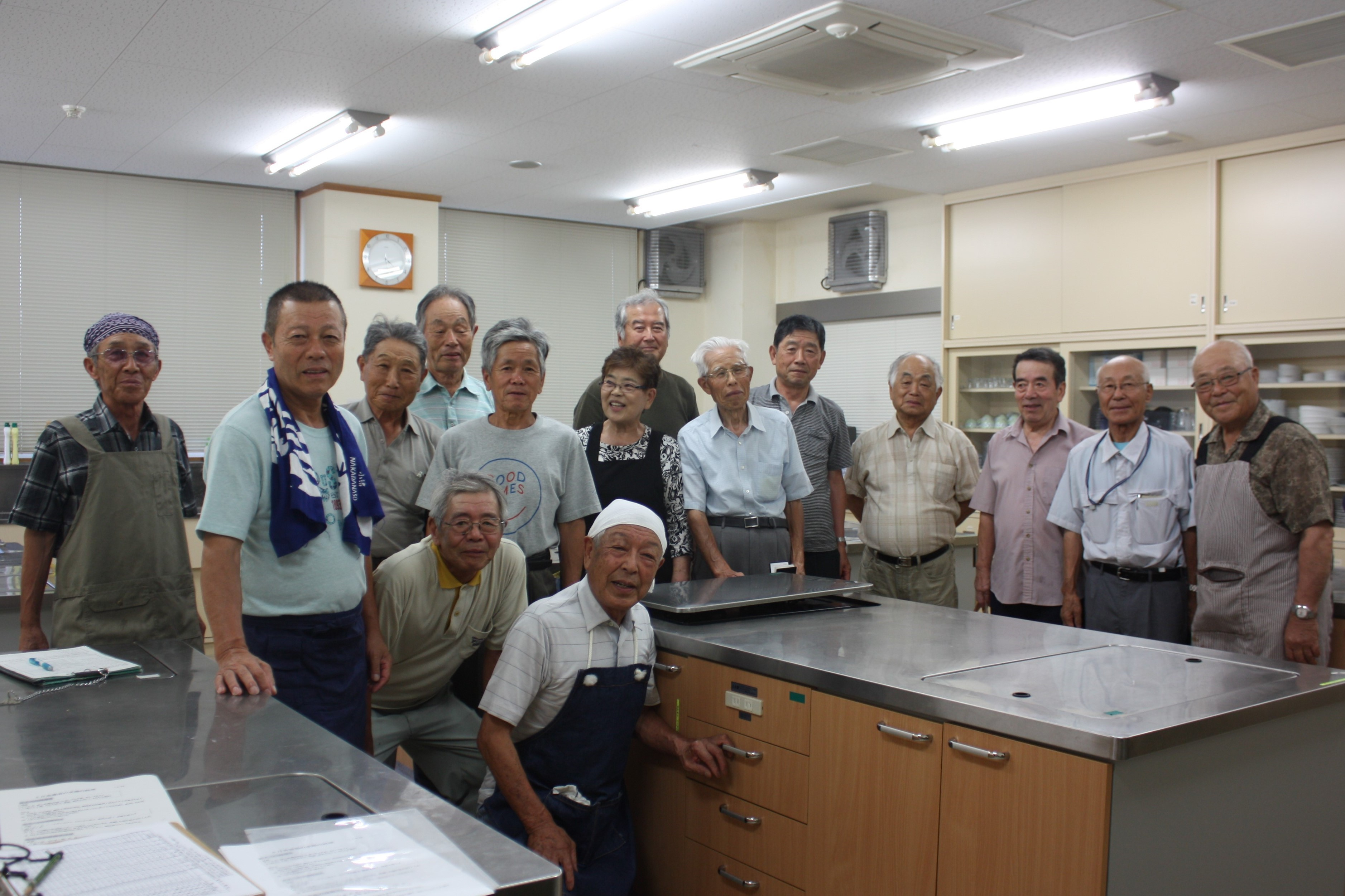 男の料理教室(伊那市美篶公民館) の画像