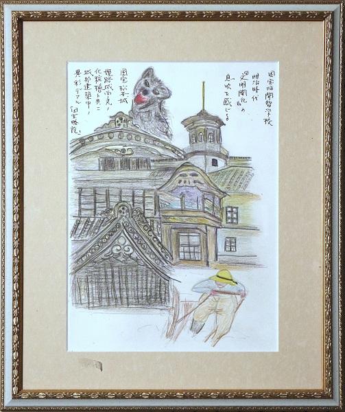松本城 開智学校のイメージ