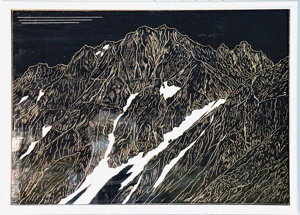 北穂高岳より 奥穂高岳のイメージ