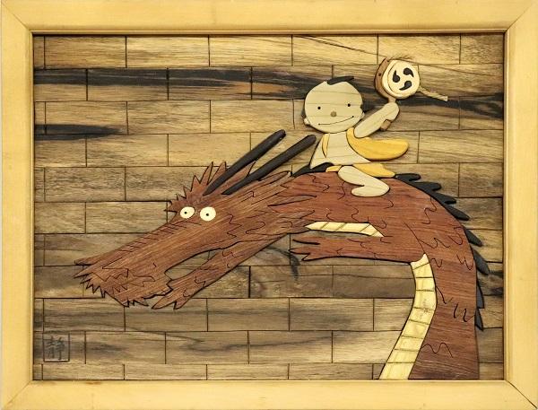 組木絵(日本むかしばなし)のイメージ