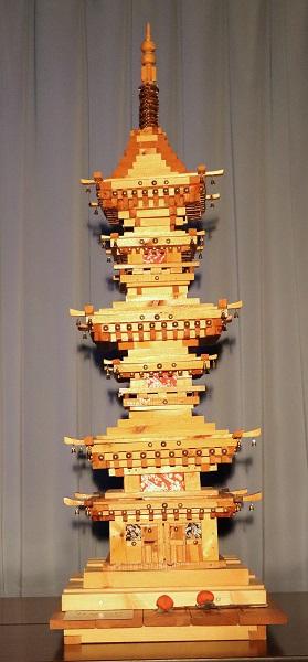 奈良・薬師寺の三重塔のイメージ